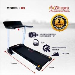 Motorised Treadmill-K3